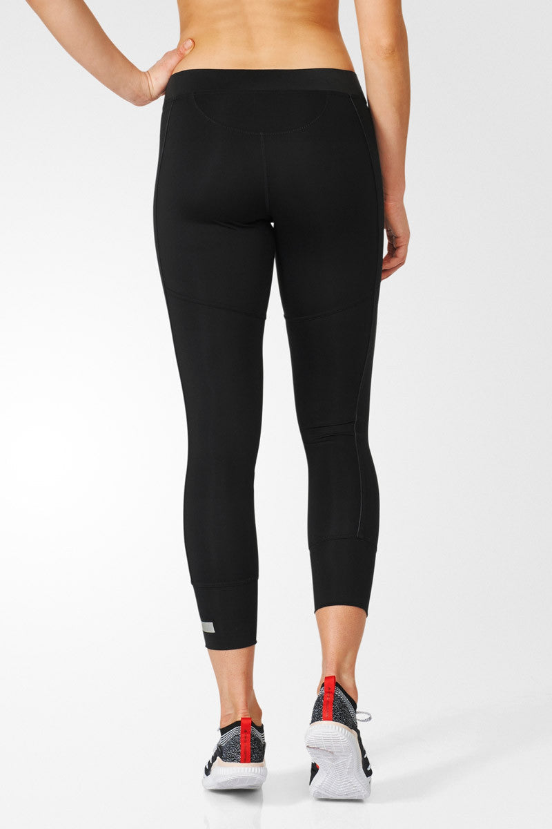 adidas X Stella McCartney The 7/8 Tight Black image 2 - The Sports Edit