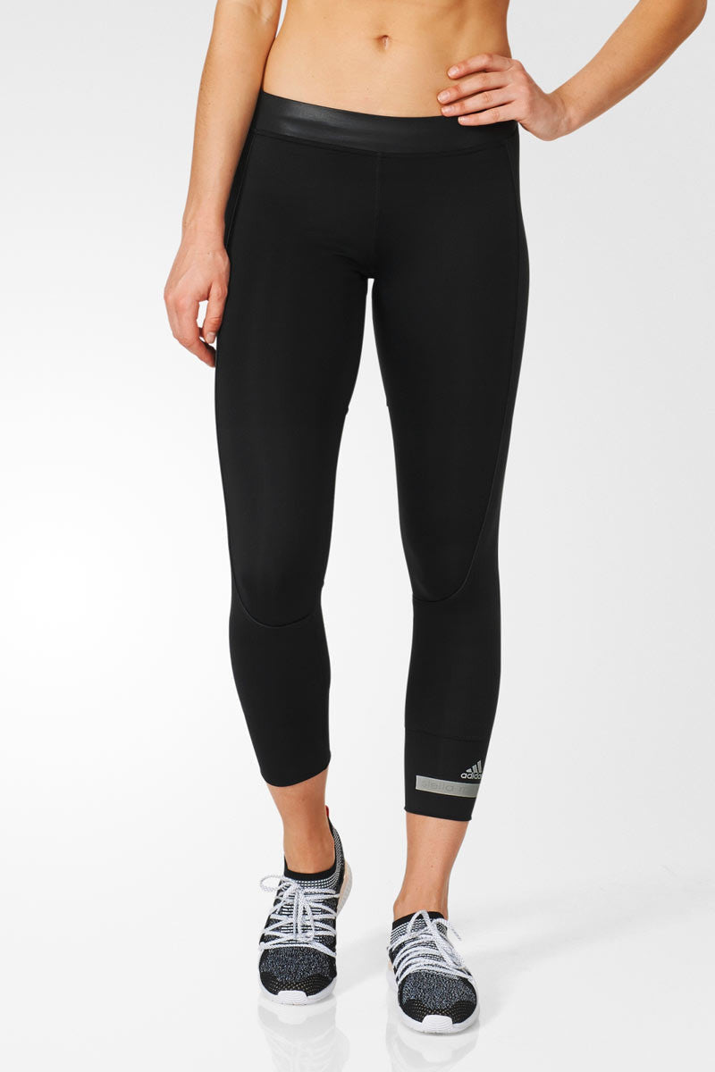 adidas X Stella McCartney The 7/8 Tight Black image 1 - The Sports Edit