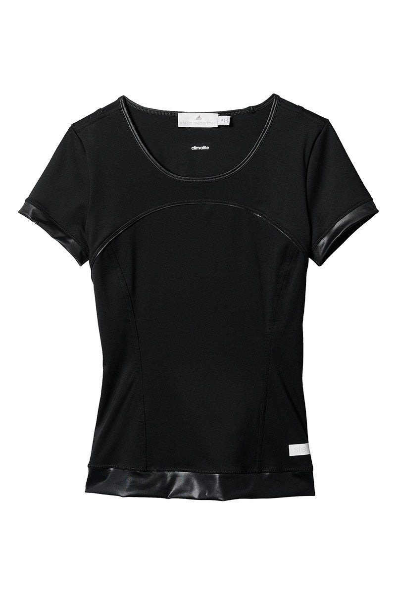 adidas X Stella McCartney The Perf Tee Black image 5 - The Sports Edit
