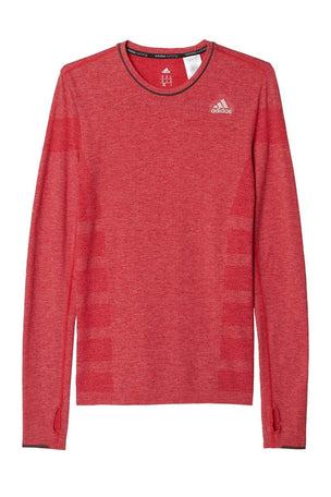 ADIDAS Adistar Wool Primeknit L/S Tee image 4 - The Sports Edit