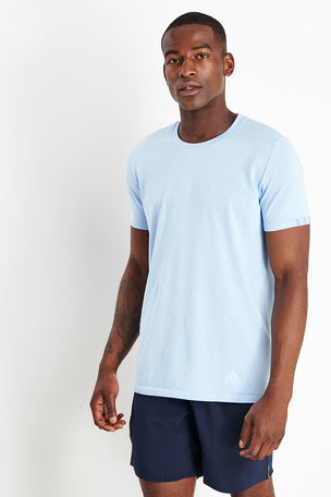 ADIDAS 25/7 T-Shirt - Blue image 1 - The Sports Edit