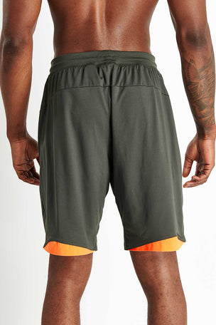 ADIDAS 4KRFT Sport Ultimate 9-Inch Knit Shorts - Legend Earth image 3 - The Sports Edit