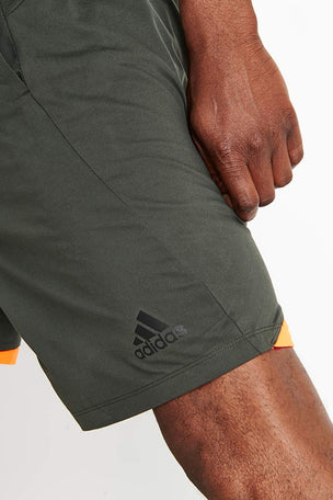 ADIDAS 4KRFT Sport Ultimate 9-Inch Knit Shorts - Legend Earth image 4 - The Sports Edit