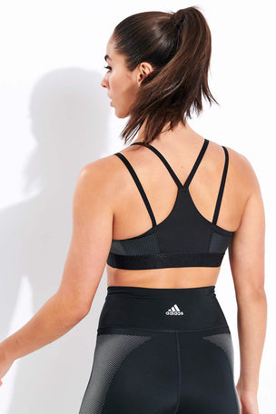 Adidas All Me Bra - Black image 3 - The Sports Edit