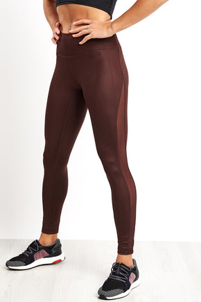 0ecc229e681 ADIDAS Believe This Tights - Night Red image 1 - The Sports Edit