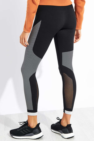 ADIDAS Believe This Primeknit FLW Leggings - Black image 3 - The Sports Edit