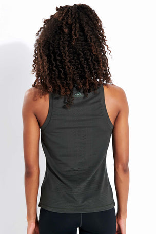 ADIDAS Engineered Knit Tank Top - Legend Earth image 3 - The Sports Edit