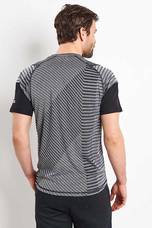 ADIDAS FreeLift 360 Strong Graphic Tee - Grey image 2 - The Sports Edit