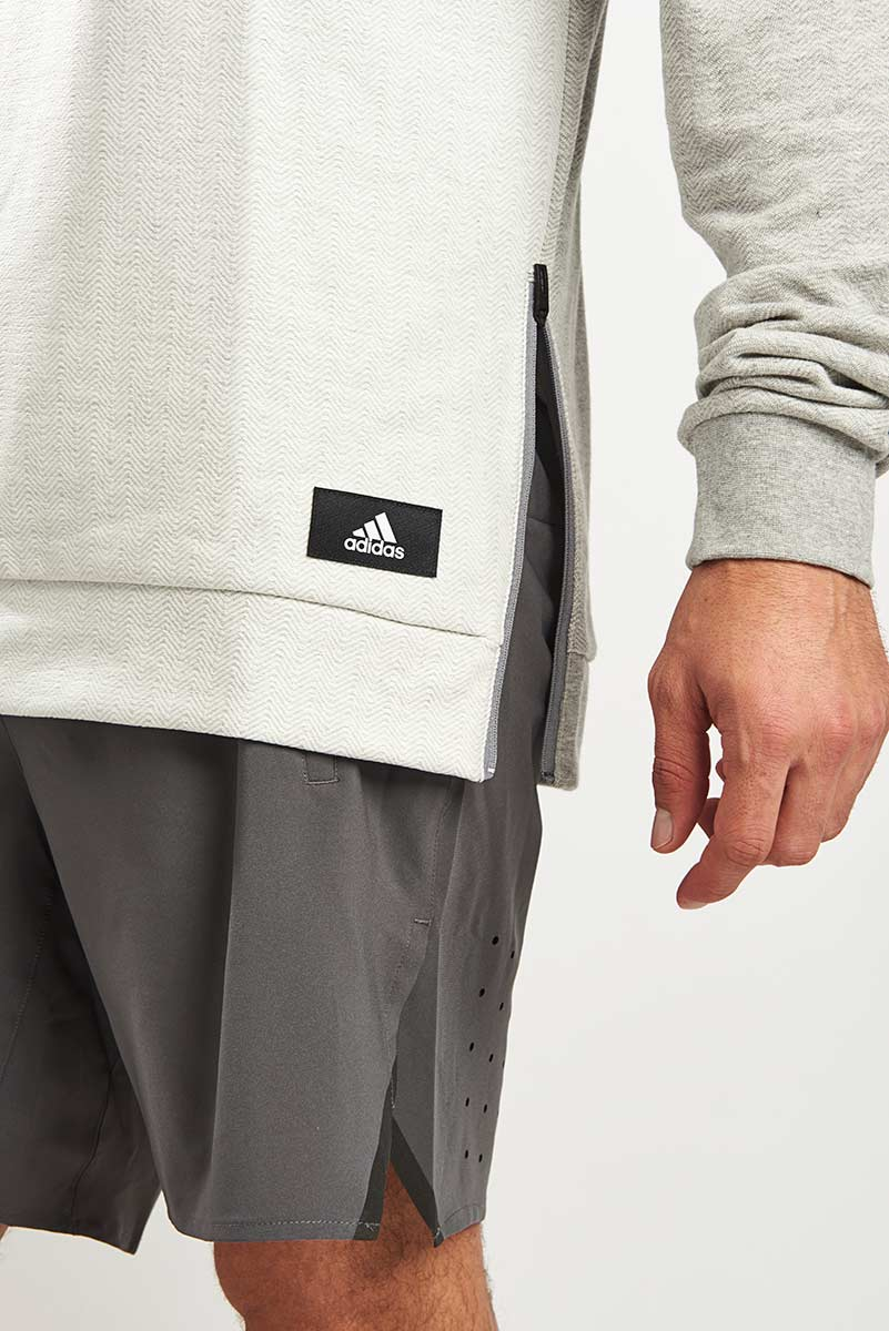 ADIDAS Athletics Crewneck Sweatshirt | Grey image 3 - The Sports Edit
