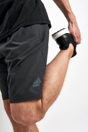 ADIDAS 4KRFT Elevated Short Carbon image 3 - The Sports Edit