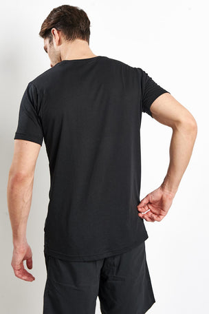 ADIDAS adidas Training Tee - Black image 2 - The Sports Edit