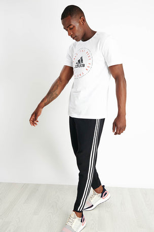 ADIDAS ID Tiro Tracksuit Bottoms - Black image 4 - The Sports Edit