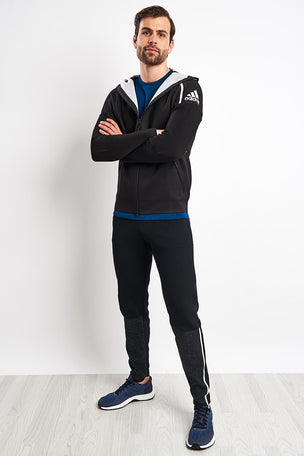 ADIDAS Z.N.E Primeknit Hoodie - Black image 4 - The Sports Edit