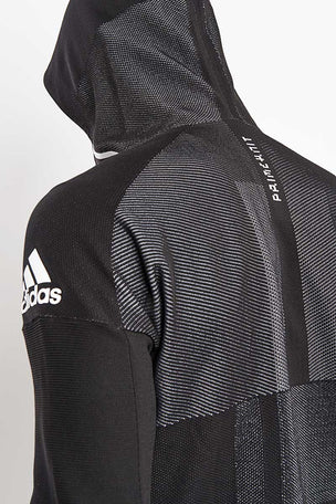 ADIDAS Z.N.E Primeknit Hoodie - Black image 3 - The Sports Edit