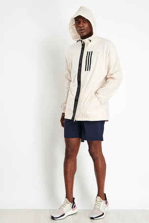 ADIDAS W.N.D. Parley Jacket - Linen image 2 - The Sports Edit