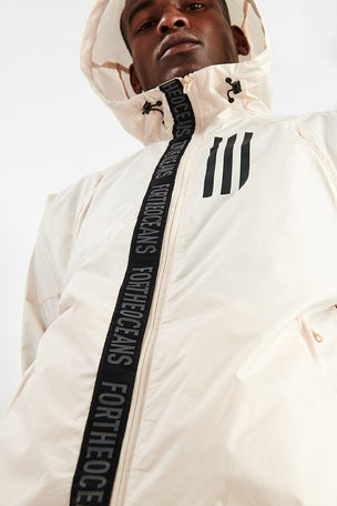 ADIDAS W.N.D. Parley Jacket - Linen image 4 - The Sports Edit