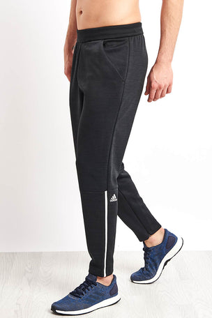 ADIDAS Z.N.E. Tapered Pants - Htr/Black image 1 - The Sports Edit