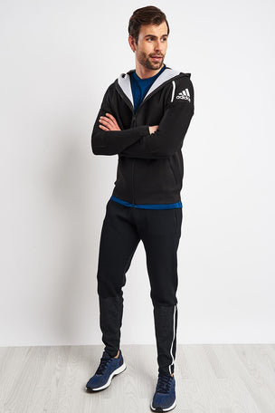 ADIDAS Z.N.E. Primeknit Pants - Black image 4 - The Sports Edit