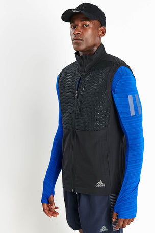 ADIDAS Rise Up N Run Vest - Black image 1 - The Sports Edit