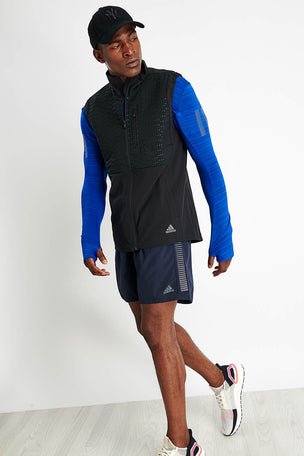 ADIDAS Rise Up N Run Vest - Black image 2 - The Sports Edit