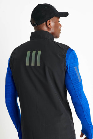 ADIDAS Rise Up N Run Vest - Black image 3 - The Sports Edit