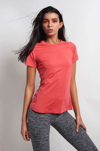 ADIDAS Speed Tee - Core Pink image 1 - The Sports Edit