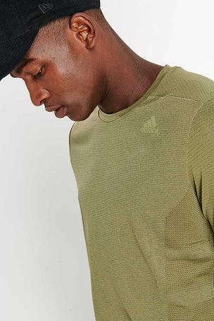 ADIDAS Supernova Tee - Green image 4 - The Sports Edit