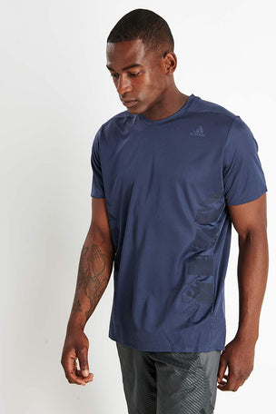 ADIDAS Supernova Tee - Trace Blue image 1 - The Sports Edit
