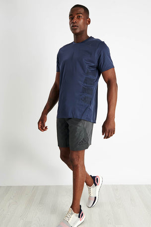 ADIDAS Supernova Tee - Trace Blue image 2 - The Sports Edit