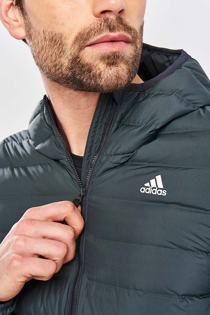 23df8c7d ADIDAS Varilite Soft Jacket - Carbon image 3 - The Sports Edit