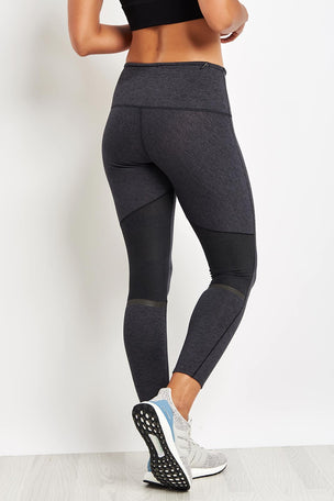 ADIDAS Ultra Seven-Eights Tights - Black image 2 - The Sports Edit