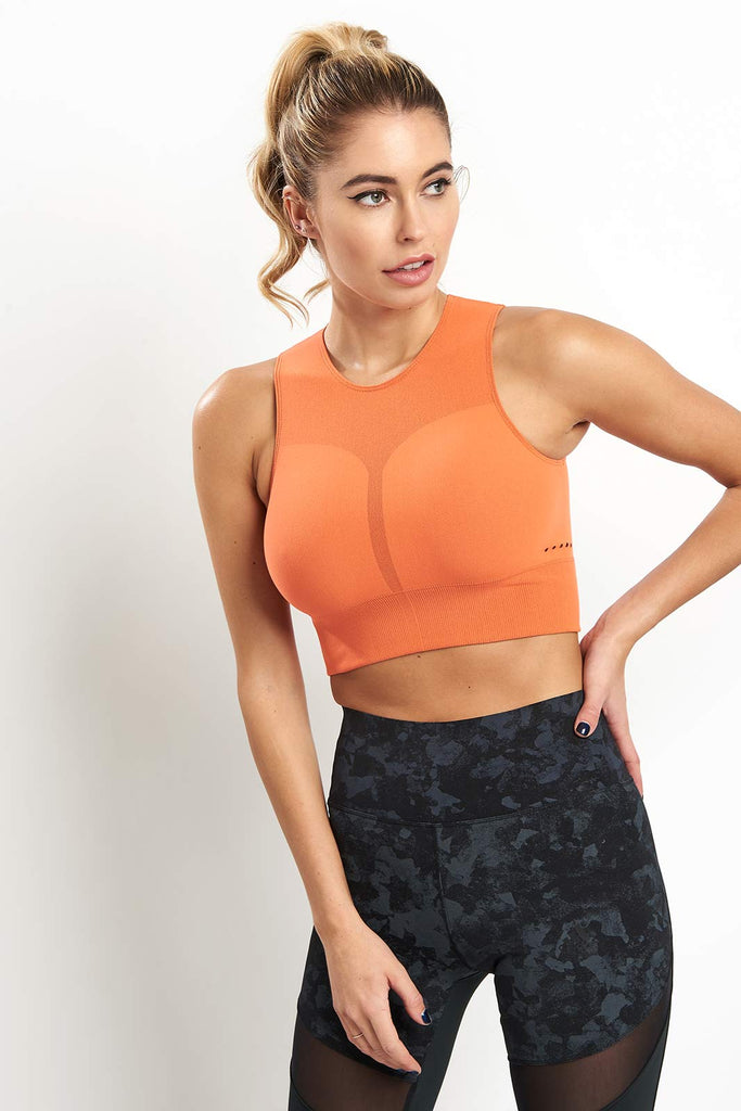 55e86e17fbbb20 ADIDAS Warp Knit Crop Top image 1 - The Sports Edit