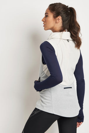ADIDAS Climaheat Gilet - Crystal White image 2 - The Sports Edit