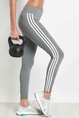 ADIDAS Believe This 3-Stripes Tights image 1 - The Sports Edit