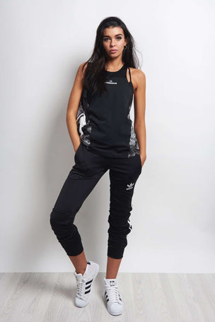 adidas X Stella McCartney Run ADZ Tank Blk image 2 - The Sports Edit