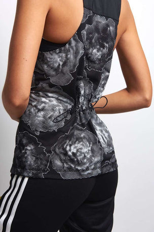 adidas X Stella McCartney Run ADZ Tank Blk image 4 - The Sports Edit