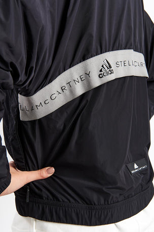 adidas X Stella McCartney Athletics Bomber Jacket - Black image 3 - The Sports Edit