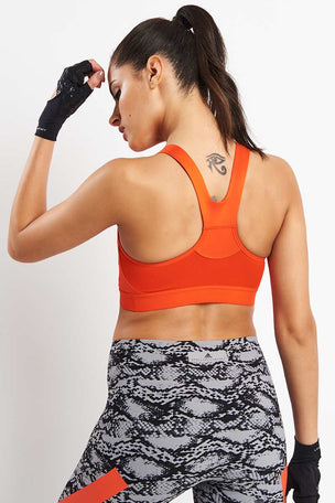 adidas X Stella McCartney Performance Essentials Bra - Orange image 2 - The Sports Edit