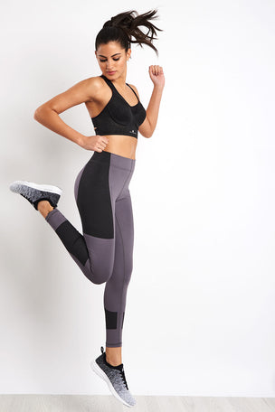 adidas X Stella McCartney FitSense+ Training Tights - Granite image 3 - The Sports Edit