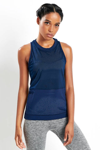 adidas X Stella McCartney Train HIIT Tank - Collegiate Navy image 1 - The Sports Edit