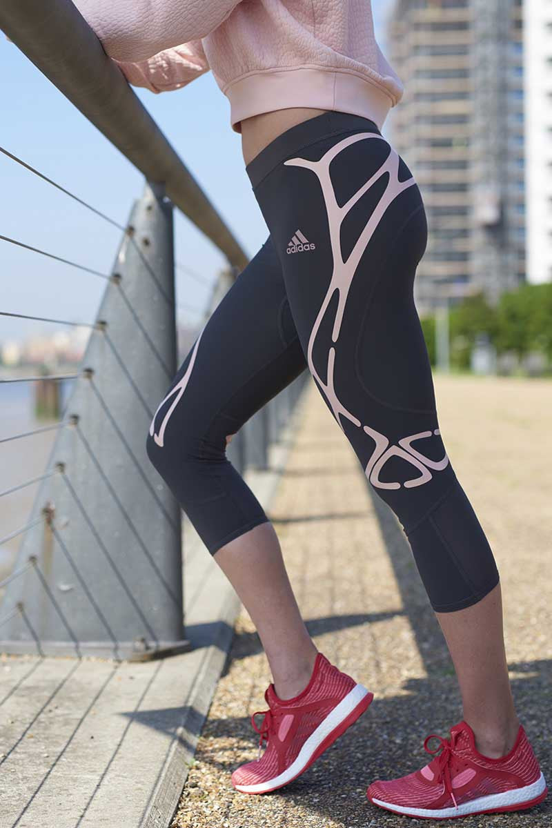 ADIDAS Adizero Sprintweb 3/4 Tight image 4 - The Sports Edit