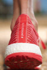 ADIDAS Pure Boost X Ray Red image 4 - The Sports Edit