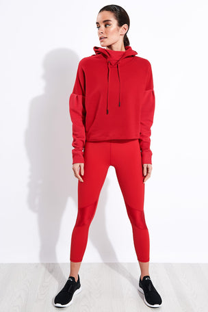 Alala Aspen Hoodie - Ruby image 2 - The Sports Edit