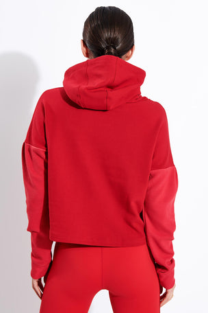 Alala Aspen Hoodie - Ruby image 3 - The Sports Edit
