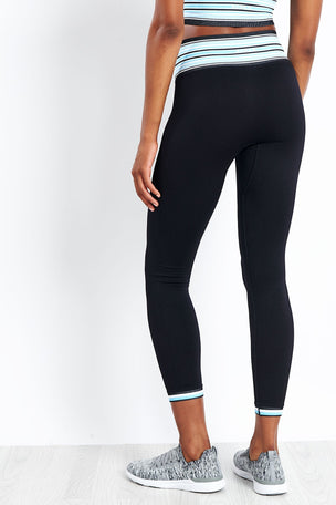 Alala Banded Seamless Tight - Azure image 8 - The Sports Edit
