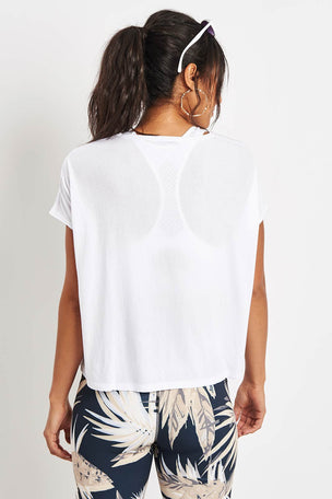 Alala Breakers Tee - White image 3 - The Sports Edit