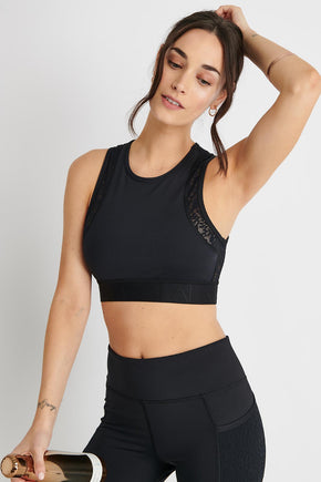 ad32c34367 Alala Curve Bra - Black image 1 - The Sports Edit