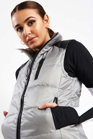 ALALA City Puffer Vest image 3 - The Sports Edit