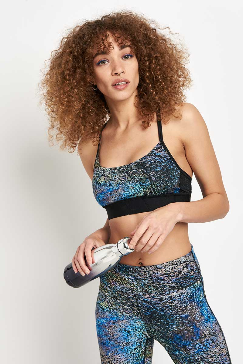 Alala Crest Bra Oilslick image 1 - The Sports Edit