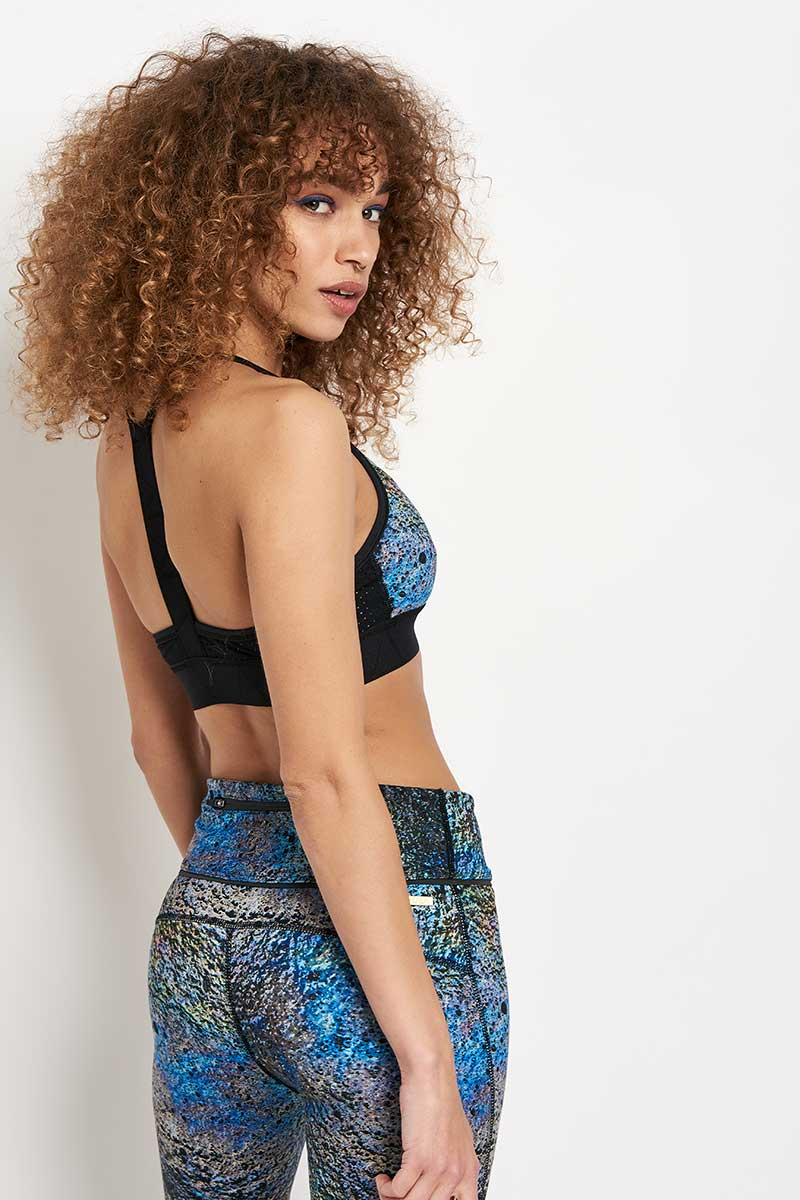 Alala Crest Bra Oilslick image 2 - The Sports Edit